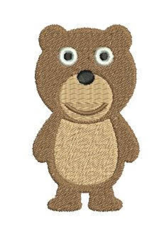 50ffc67a847 Teddy Bear Embroidery Design