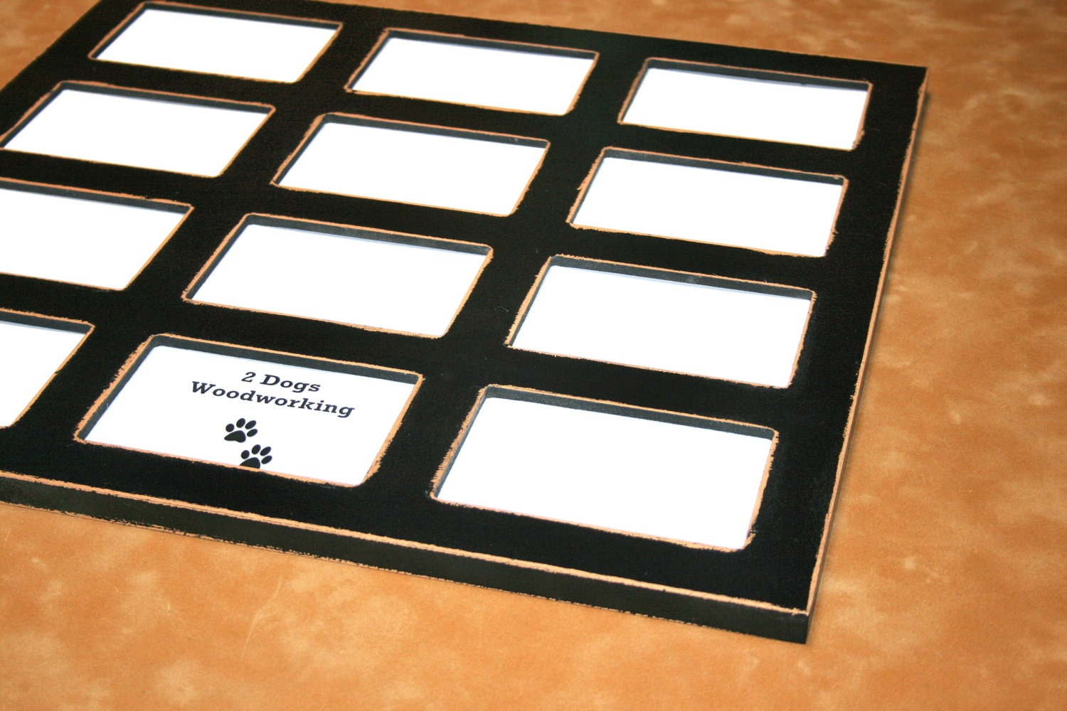 Unfinished collage picture frame multiple opening for 12 5x7 zoom jeuxipadfo Gallery