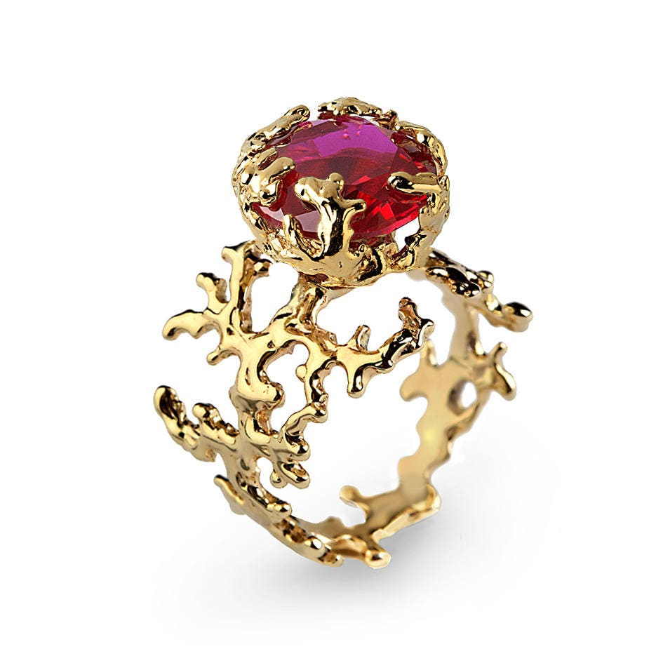 products yellow custom fullxfull jewellery natural engagement an gold leaf ruby ring il