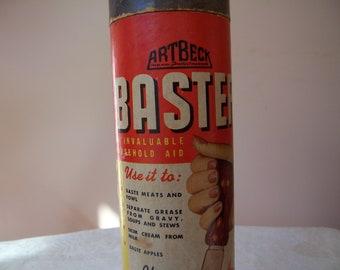 Vintage Arthur Beck Pyrex Glass Baster - Made in America