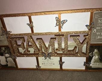 Stunning family photo frame