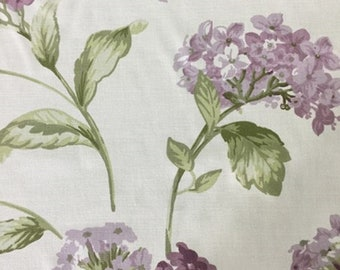Hydrangea Flower Printed Fabric