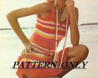 Crochet pattern - sundress pdf pattern  - instant download