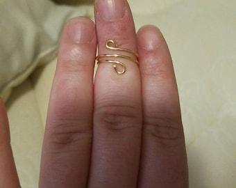 Plain Jane midi ring