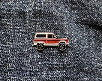 1972 Ford Bronco - Enamel Pin - BRFC Dream Cars #1