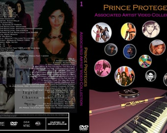 Prince Proteges Promo Videos 4 DVD set