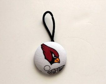 Arizona Cardinals Giant Fabric Covered Button Pony Holder