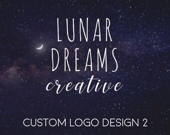 Custom Logo Design, Unique Logo, Business Branding, Boutique Logo, Feminine Logo, Organic Logo, Creative Logo, Business Branding Package