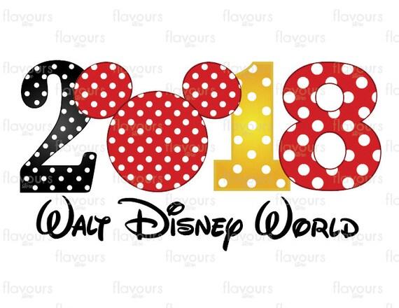 2018 walt disney world family vacation disney iron on rh etsy com clipart walt disney world disney world clipart