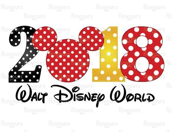2018 walt disney world family vacation disney iron on rh etsy com walt disney world logo clip art walt disney world logo clip art