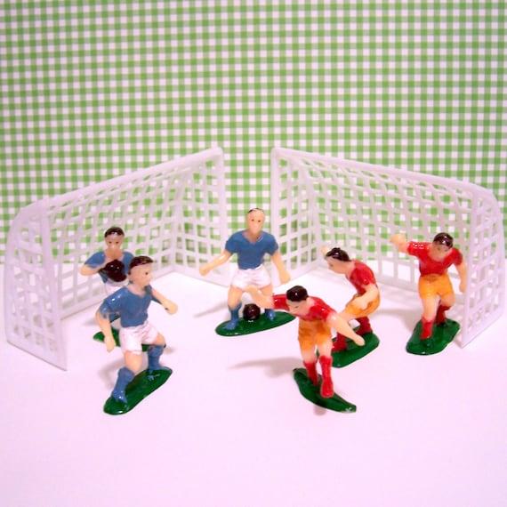 Soccer Goals Cake Topper