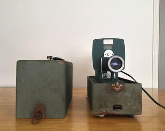 Vintage Green Slide Projector Argus 300