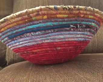 Upcycled Fabric Bowls