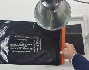 REFILLS DIY Silk Screen Printing, Emulsion on Mesh Sheets, 3 pk Reusable