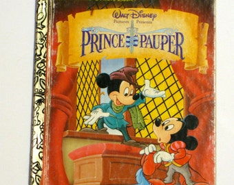 Petit livre d'or - le Prince et le pauvre