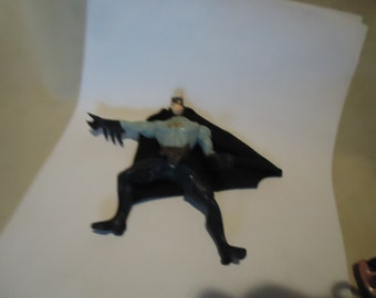 """Vintage 1994 DC Comics Batman Toy With Cape Action Figure by Kenner 5 """", collectable"""