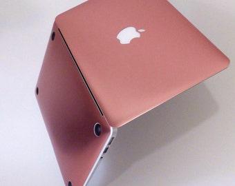 Macbook Pro 13 Case Macbook Air Case Laptop Case Macbook Decal Rose Gold Chrome Chrome