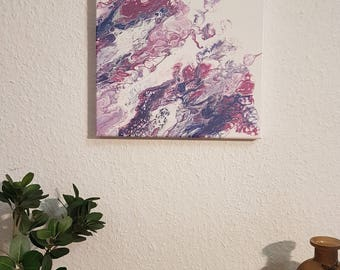 Fluid art Acrylic pour painting fluid painting canvas painting home decor wall decor FREE SHIPPING within United States and Germany.