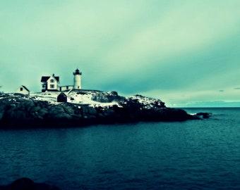 Maine, scenic, lighthouse, ocean, New England