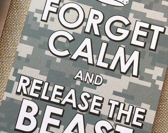 8#, Air Force Card, Basic Training Card, Military Card, Beast Week Card, Keep Calm Card, Release the Beast Card, Proud Air Force Mom, AF ABU