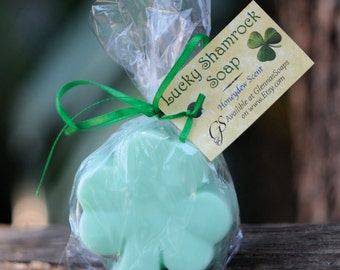 Lucky Shamrock Soap