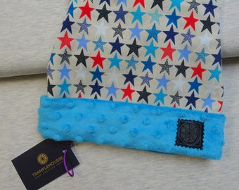 Hat pattern child colored stars