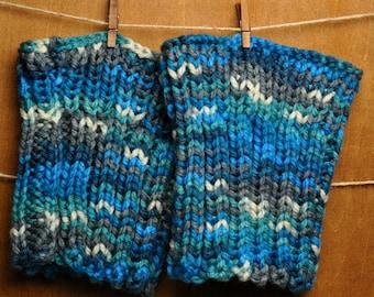 Knit Rain Boot Cuffs