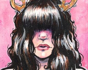 Beastly II - The Stag - DEER GIRL Print