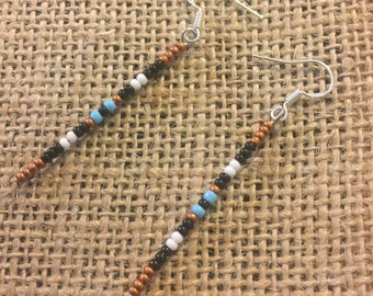 Eastern Woodlandz Beaded Stick Earrings