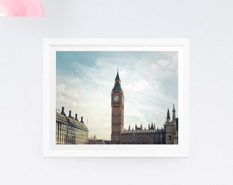 London photography print - London photography canvas - Big Ben