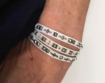 3 times wrap bracelet