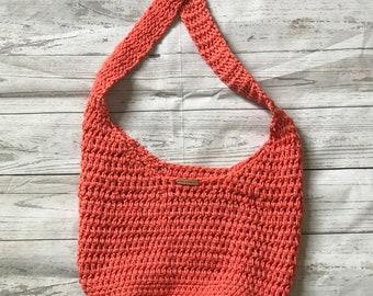 Hobo Style Crochet Bag