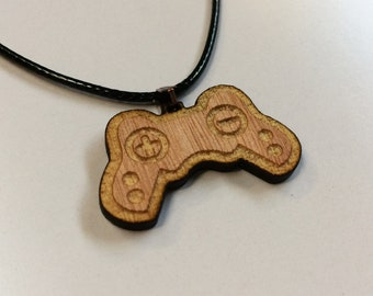 Game Controller Necklace Geek Gamer PS Xbox pad jewellery computer pc