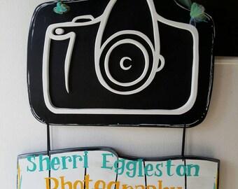 Photography Studio Custom 3D door hang