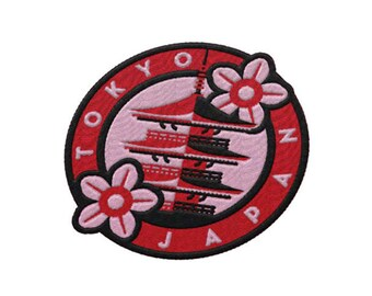 Tokyo Japan Travel Patch