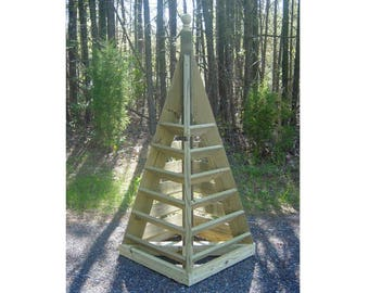 Woodworking Plans - 6 ft. Strawberry Pyramid Planter.
