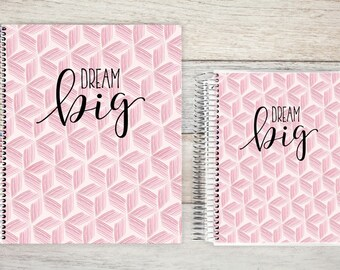 Planner | 2018 Planner | Weekly Planner | Hourly Planner | Custom Planner | Personal Planner | Life Planner | Planners | dream big