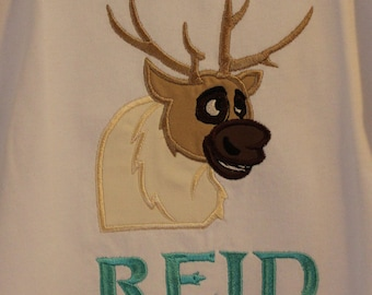 Infant, Toddler, Youth, and Adult Reindeer Shirt