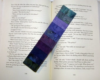 Quilted Bookmark Mermaid Stripes