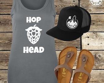 Hop Head - Women's Beer Tank**Free Shipping**
