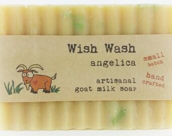 Angelica Goat Milk Soap