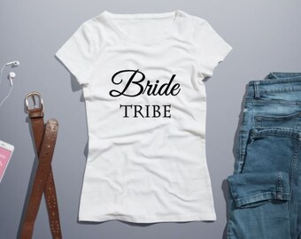 Bride Tribe Iron on Decal