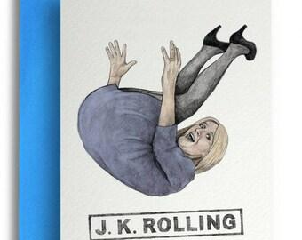 J.K. Rolling Card