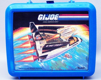 Vintage 1989 GI Joe Plastic Lunchbox - Missing Thermos
