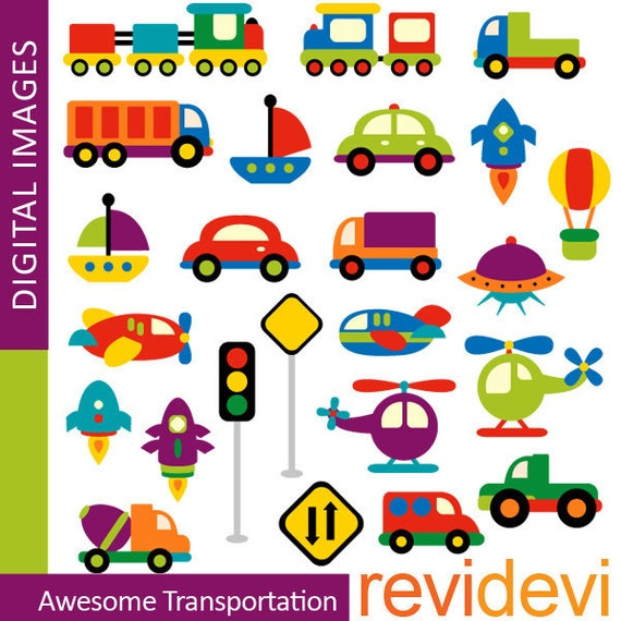 Transportation Clipart Commercial Use Awesome