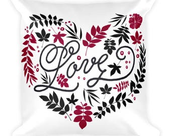 Love Personalized Square Pillow