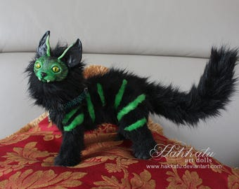 Poseable Netocat ooak art doll