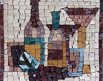 Mosaic Kitchen Backsplash- Moderna