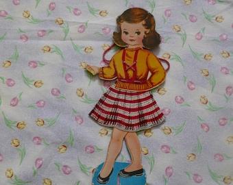 Vintage Paper Doll  1950's Era