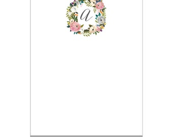 Personalized Notepad - To Do List - Memo Pad - Stationery Note Pad - Chic Simple - Wedding & Bridal Gift - Gift Idea - Stocking Stuffer